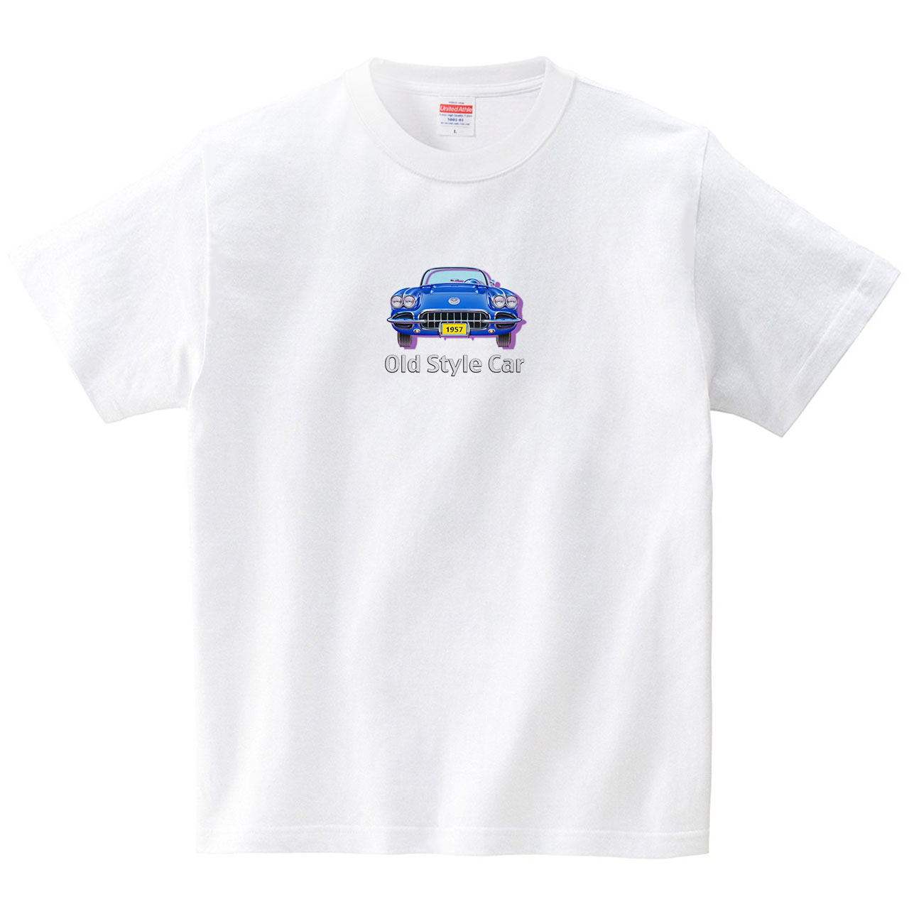 Old Style Car(Tシャツ・ホワイト)(永清文明)