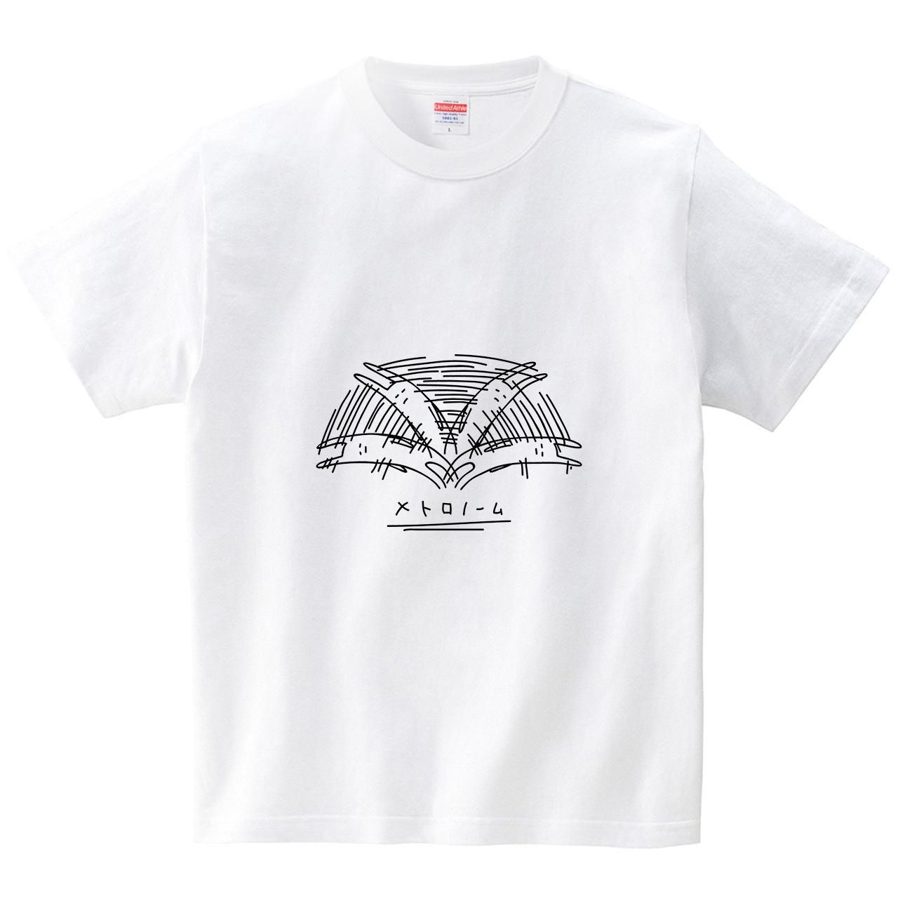 ウサギのメトロノーム(Tシャツ・ホワイト)(オワリ)