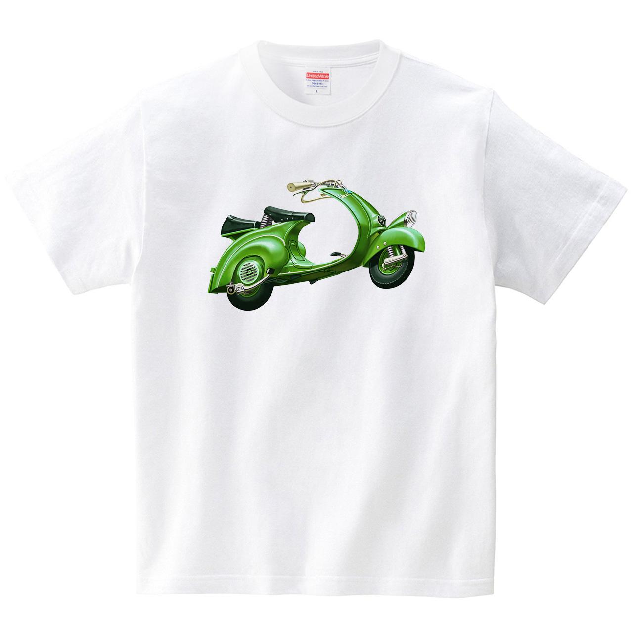 スクーター(Tシャツ・ホワイト)(Sousuke)