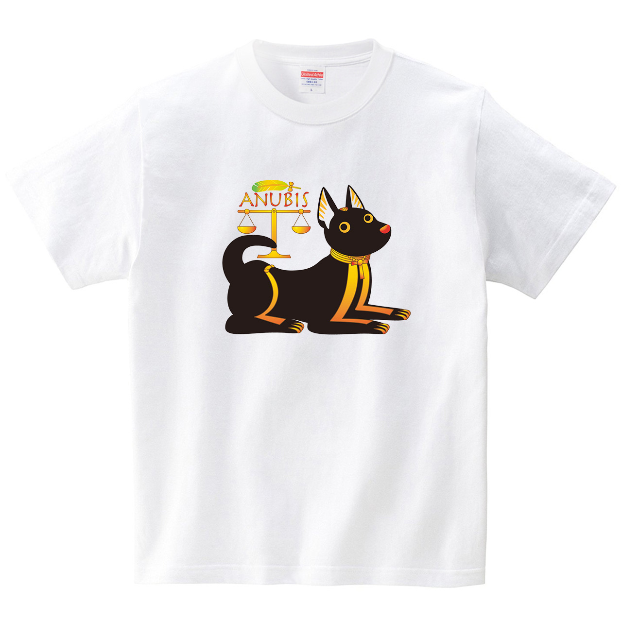 アヌビス-ANUBIS-(Tシャツ・ホワイト)(梅川紀美子)