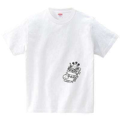 空打ちのイヌ-将棋-(Tシャツ・ホワイト)(オワリ)