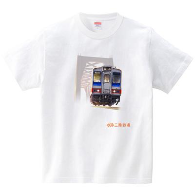 三陸鉄道 36-100形(Tシャツ・ホワイト)(嘉志高久)