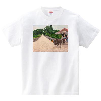 竹富島(Tシャツ・ホワイト)(TOYPOO)