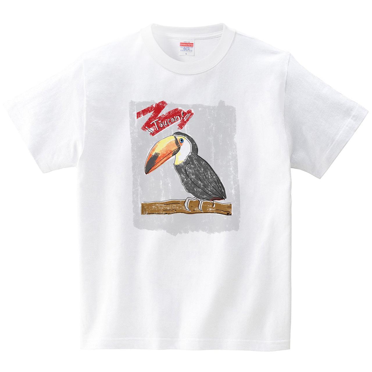 オオハシ(Tシャツ・ホワイト)(SUMIRE)
