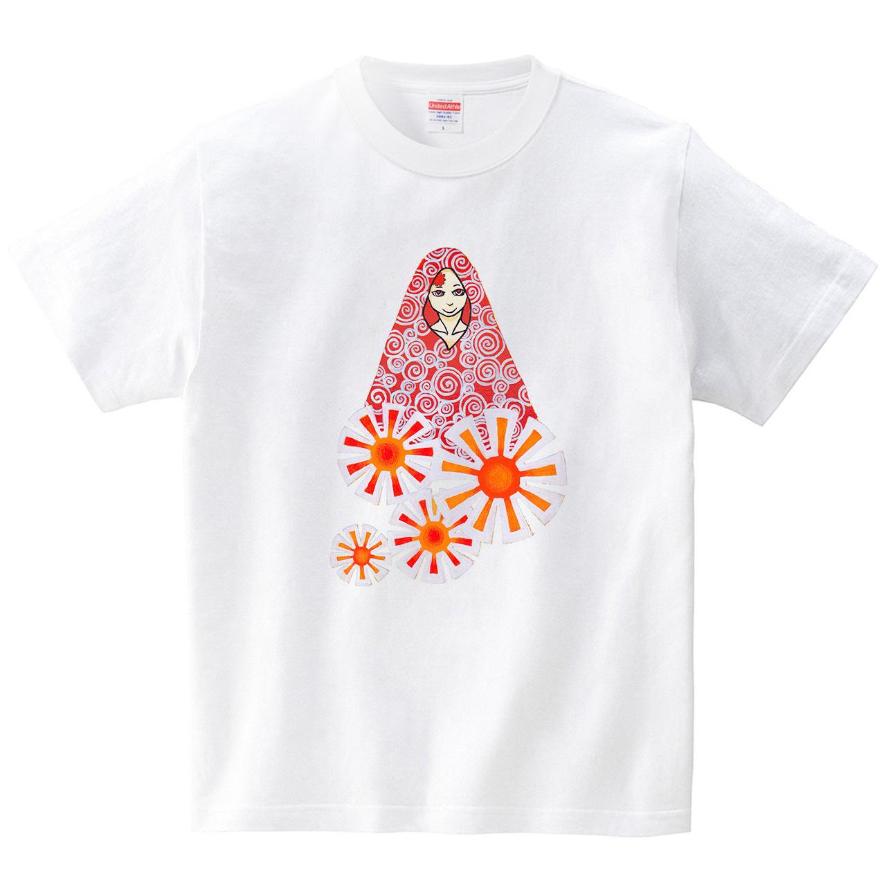 日之人(Tシャツ・ホワイト)(蟲人)