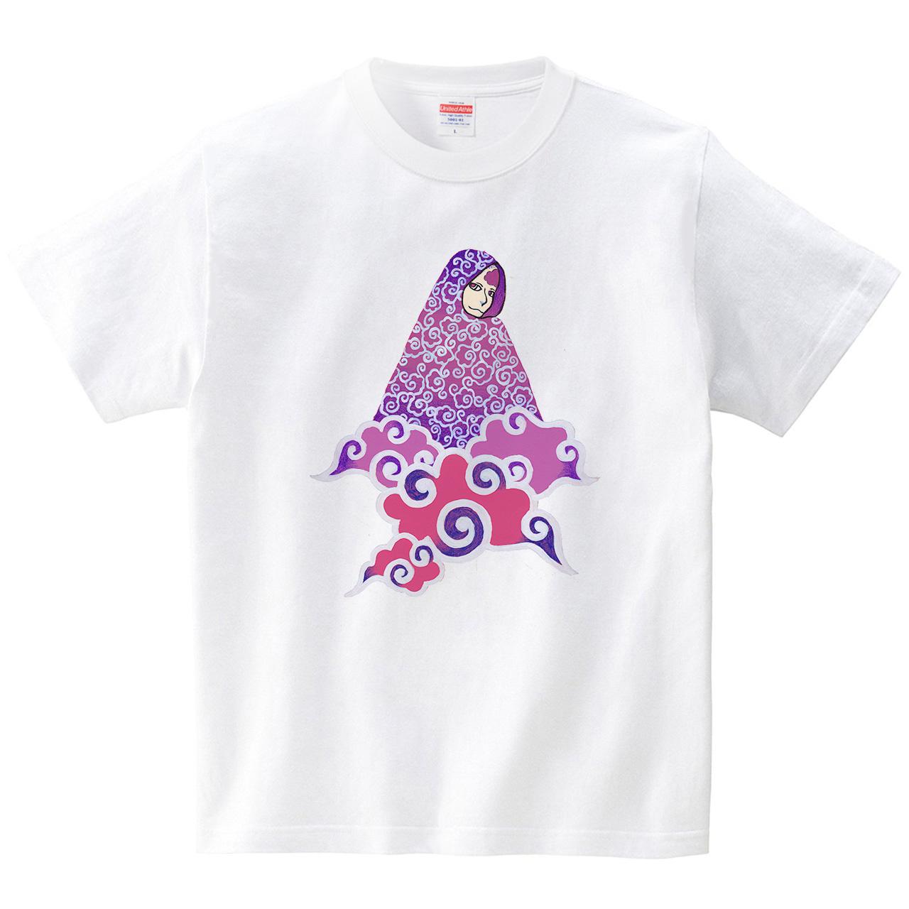 雲之人(Tシャツ・ホワイト)(蟲人)
