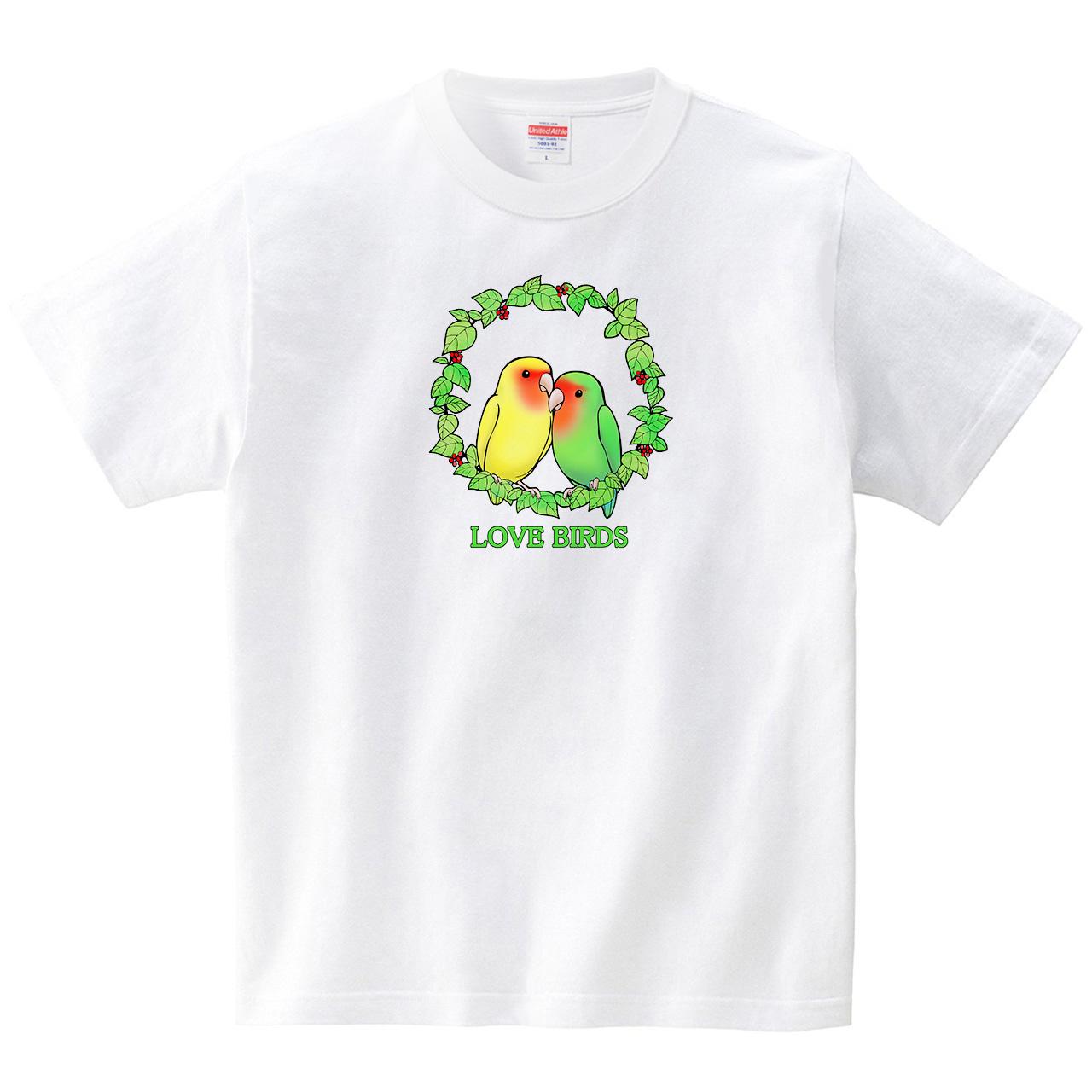 LOVE BIRDS(Tシャツ・ホワイト)(ヒカル)