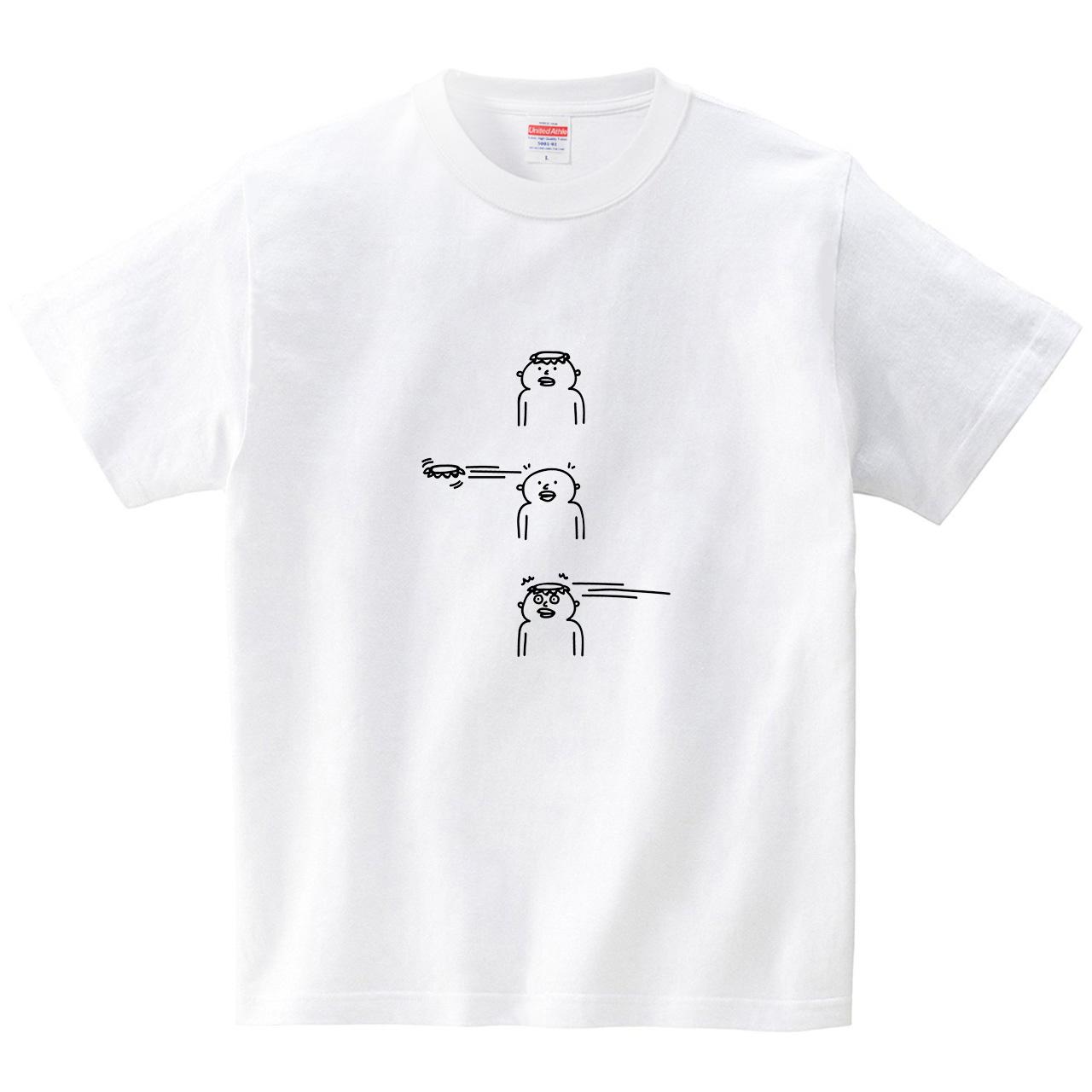 カッパの皿ブーメラン(Tシャツ・ホワイト)(オワリ)
