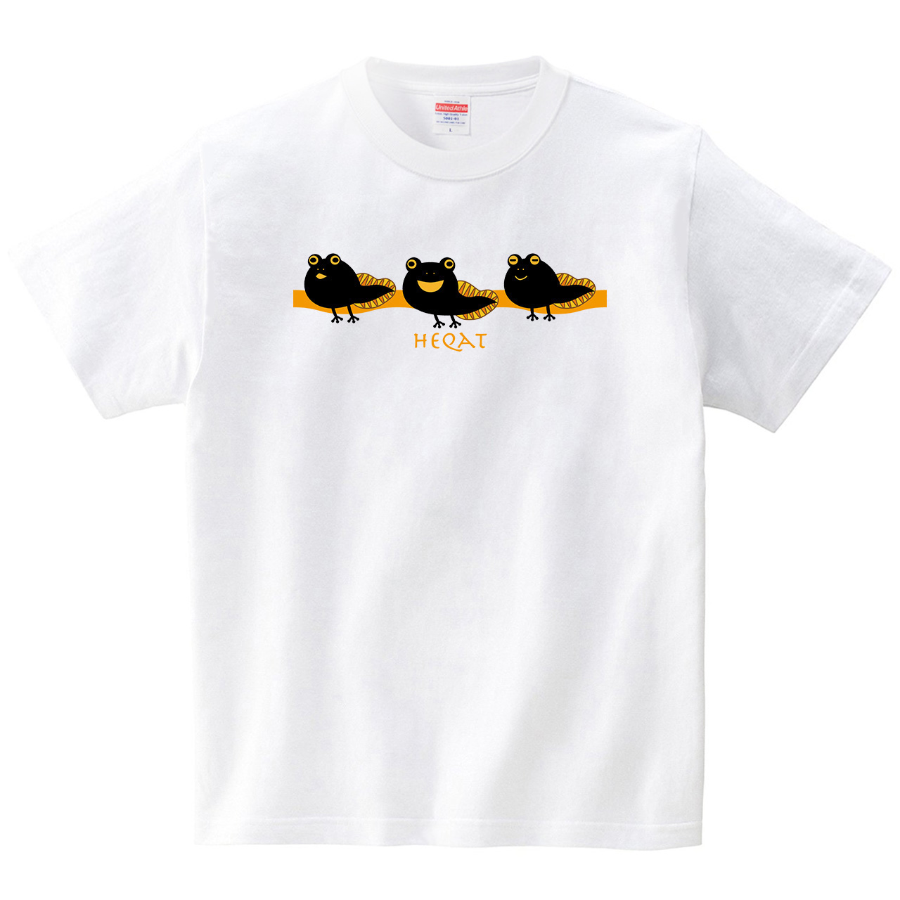 ヘカトの子ども -HEQAT-(Tシャツ・ホワイト)(梅川紀美子)