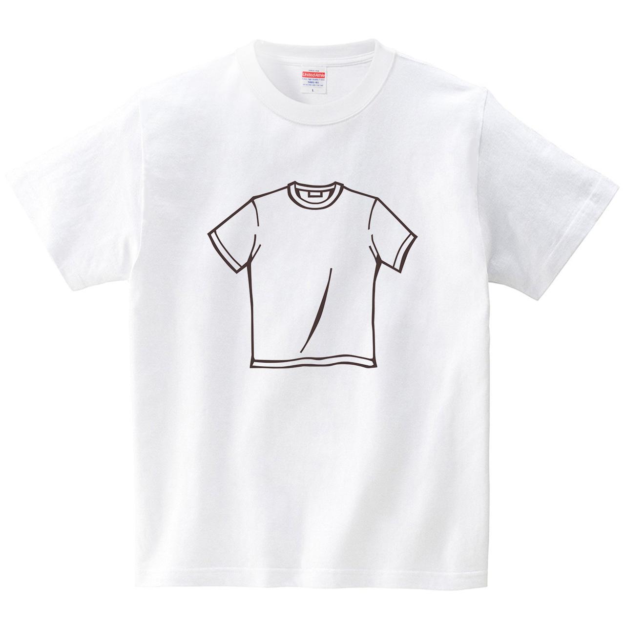 シュールシャツ(Tシャツ・ホワイト)(犬田猫三郎)