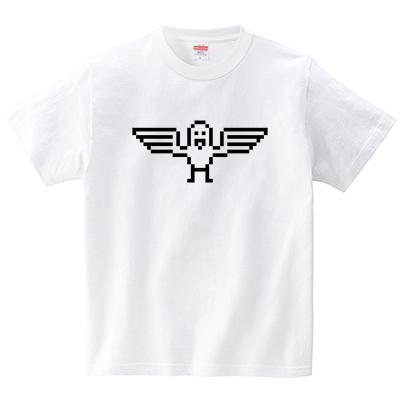 トリドット(Tシャツ・ホワイト)(犬田猫三郎)