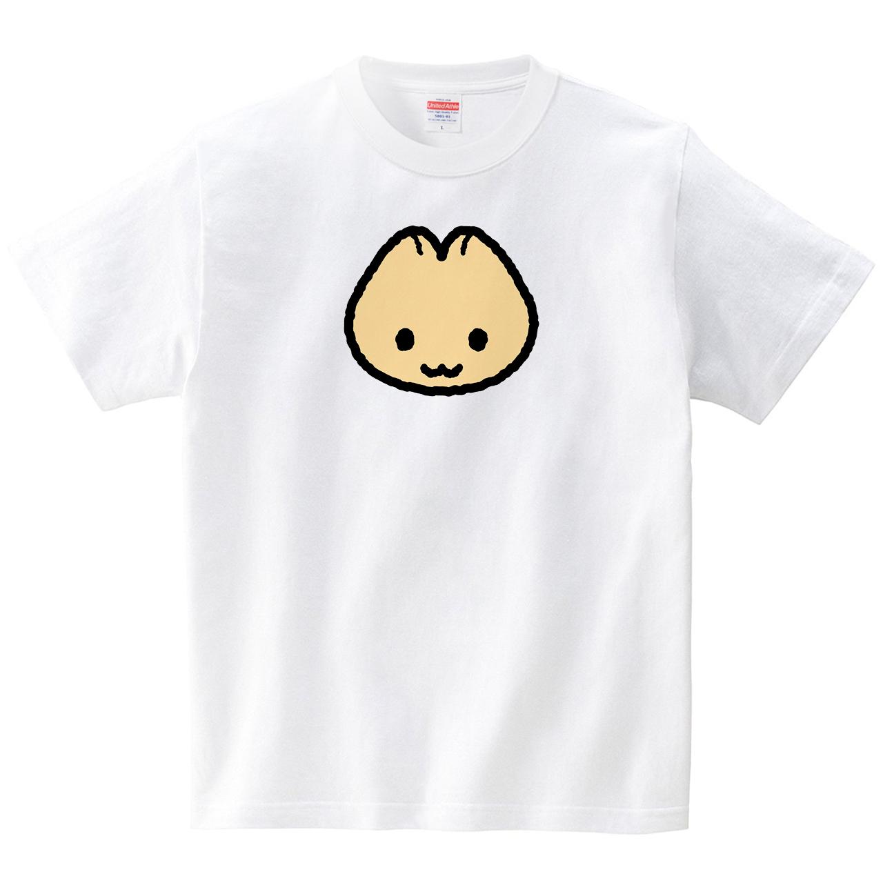 ねぬね(Tシャツ・ホワイト)(めぐみさらし)