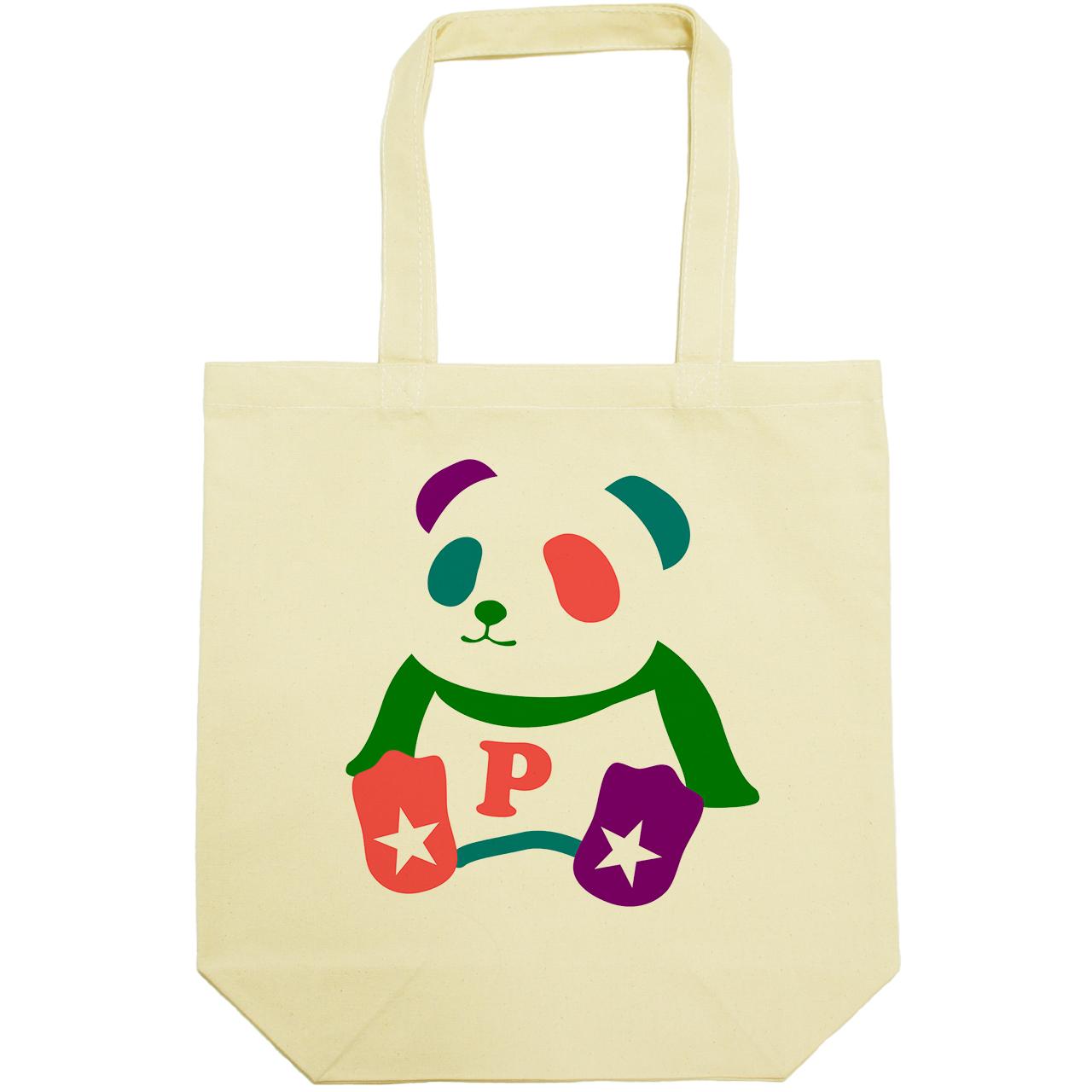 ColorPanda(キャンバストートバッグ)(くもまる)
