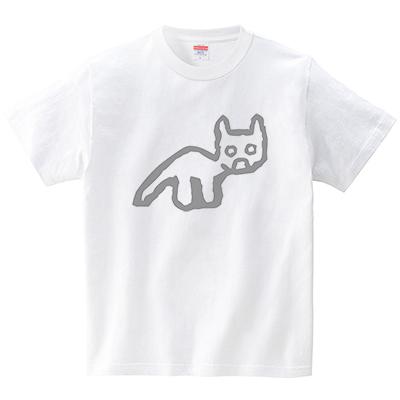 ナスカの地上絵(Tシャツ・ホワイト)(犬田猫三郎)