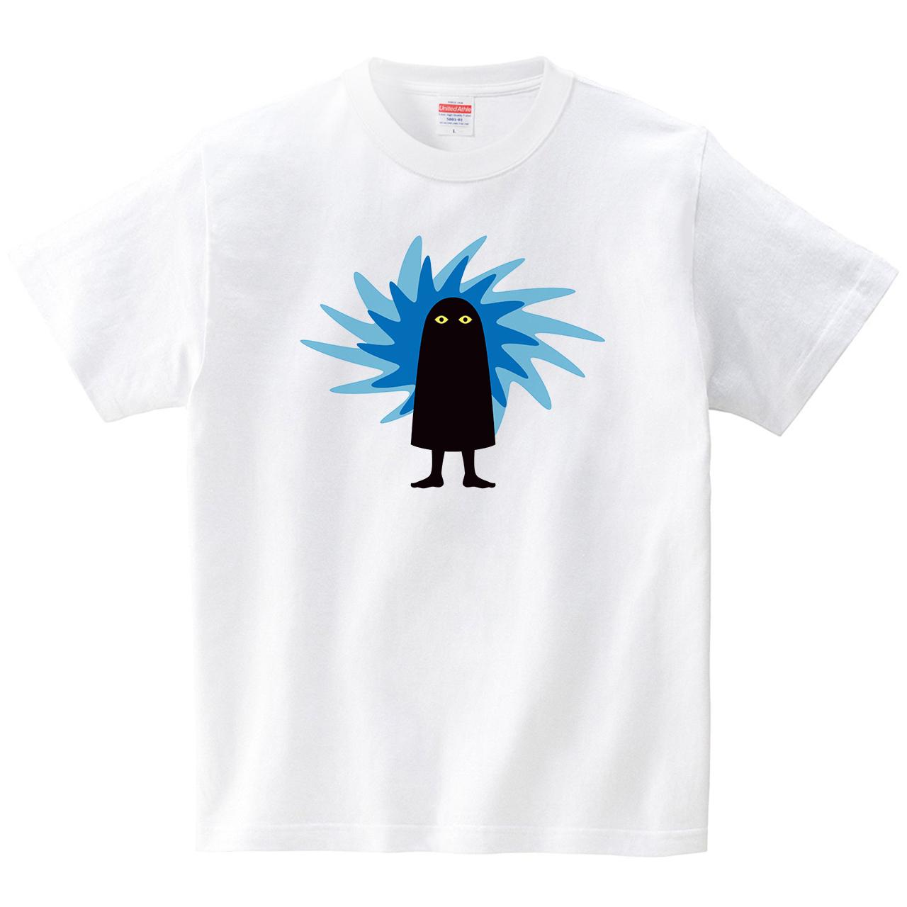 メジェドのチカラ(Tシャツ・ホワイト)(梅川紀美子)