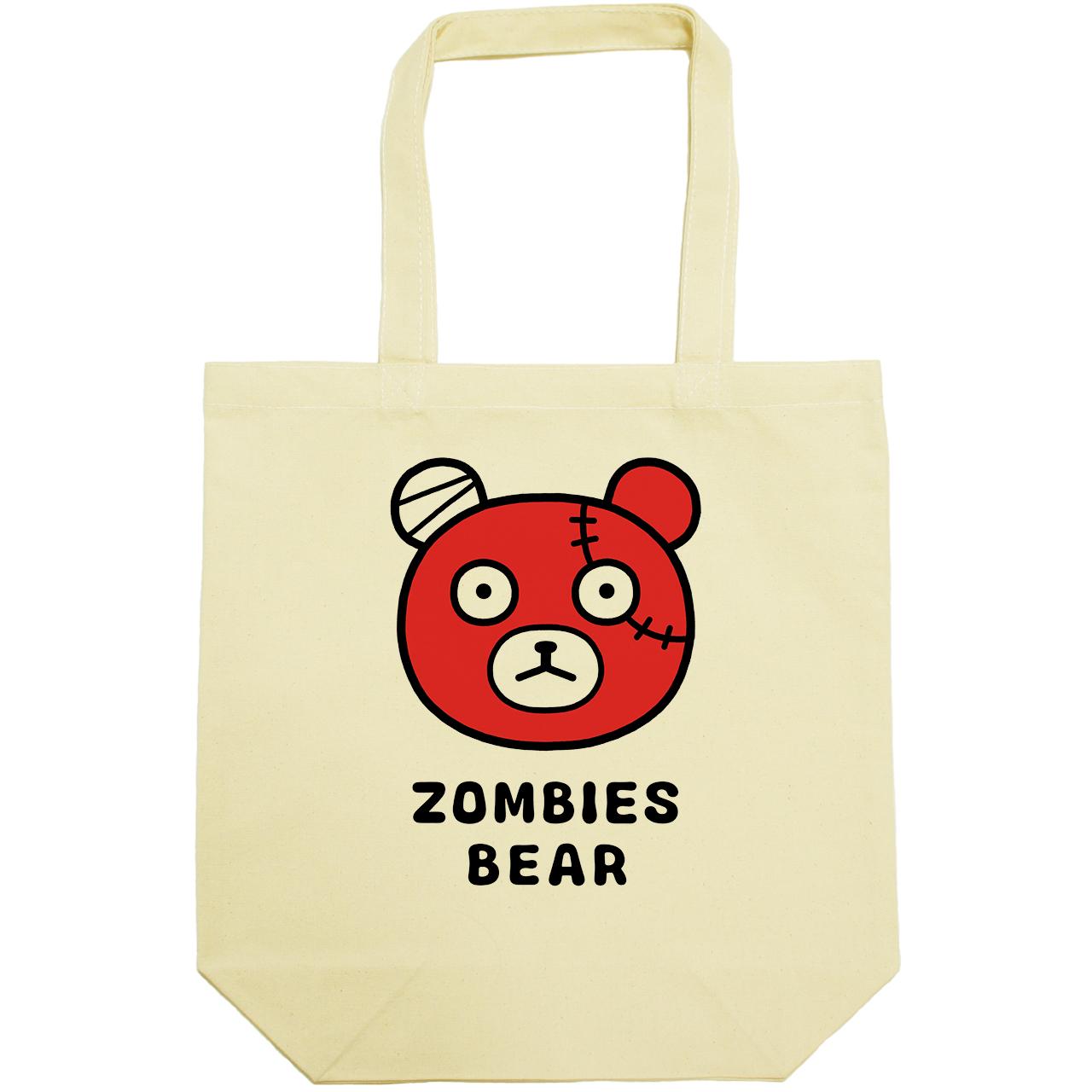ゾンビーズ クマの顔(キャンバストートバッグ)(tsukamotojunko)