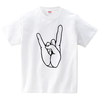 コルナサイン(Tシャツ・ホワイト)(犬田猫三郎)