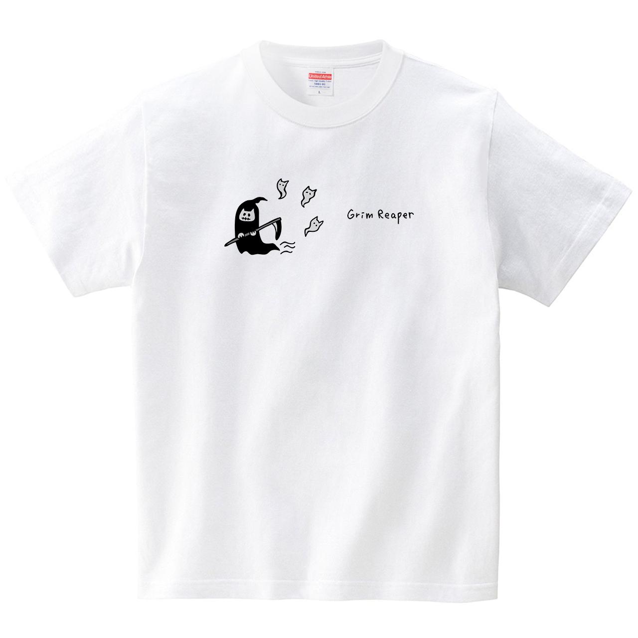 ねこ死神(Tシャツ・ホワイト)(オワリ)