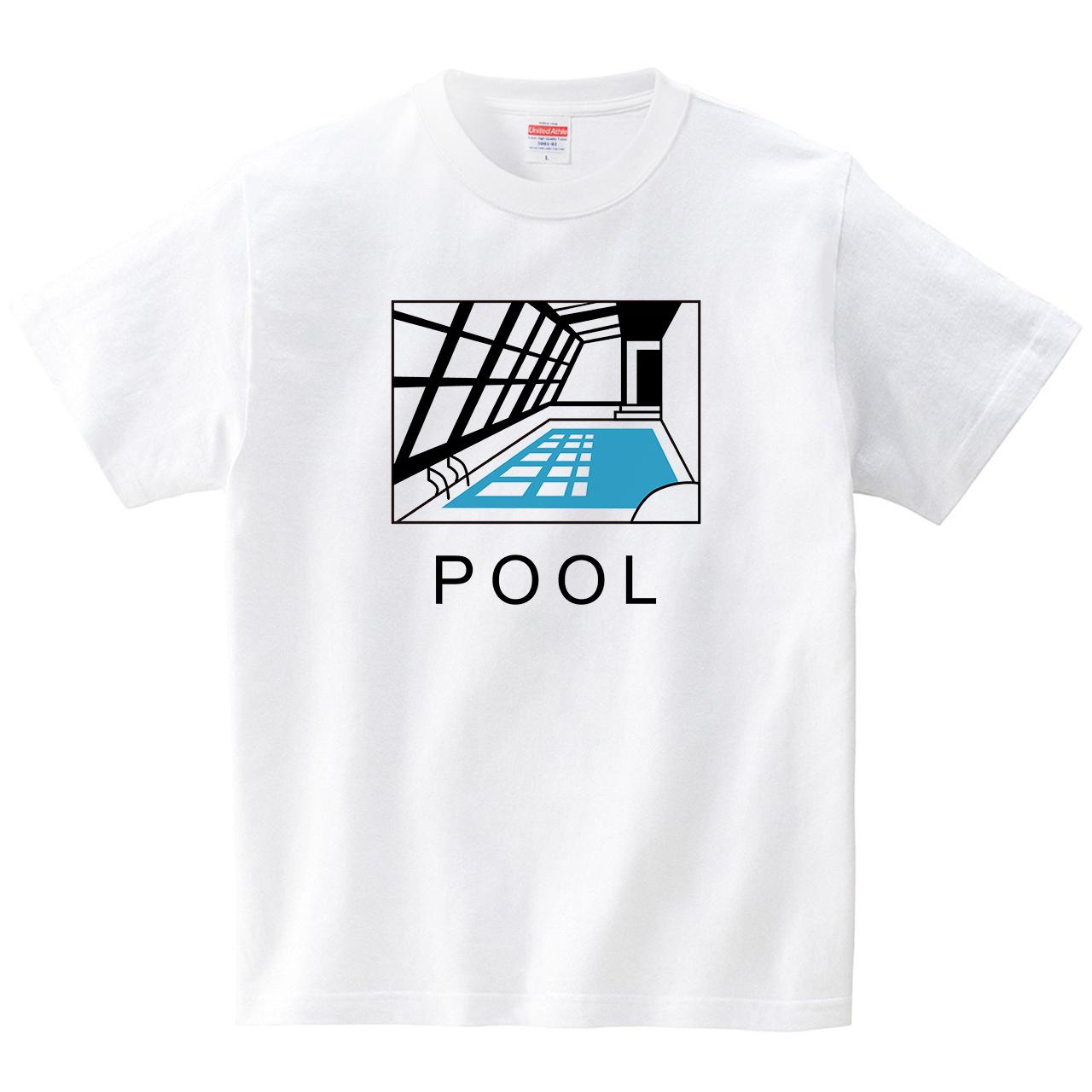 POOL(Tシャツ・ホワイト)(るん。)