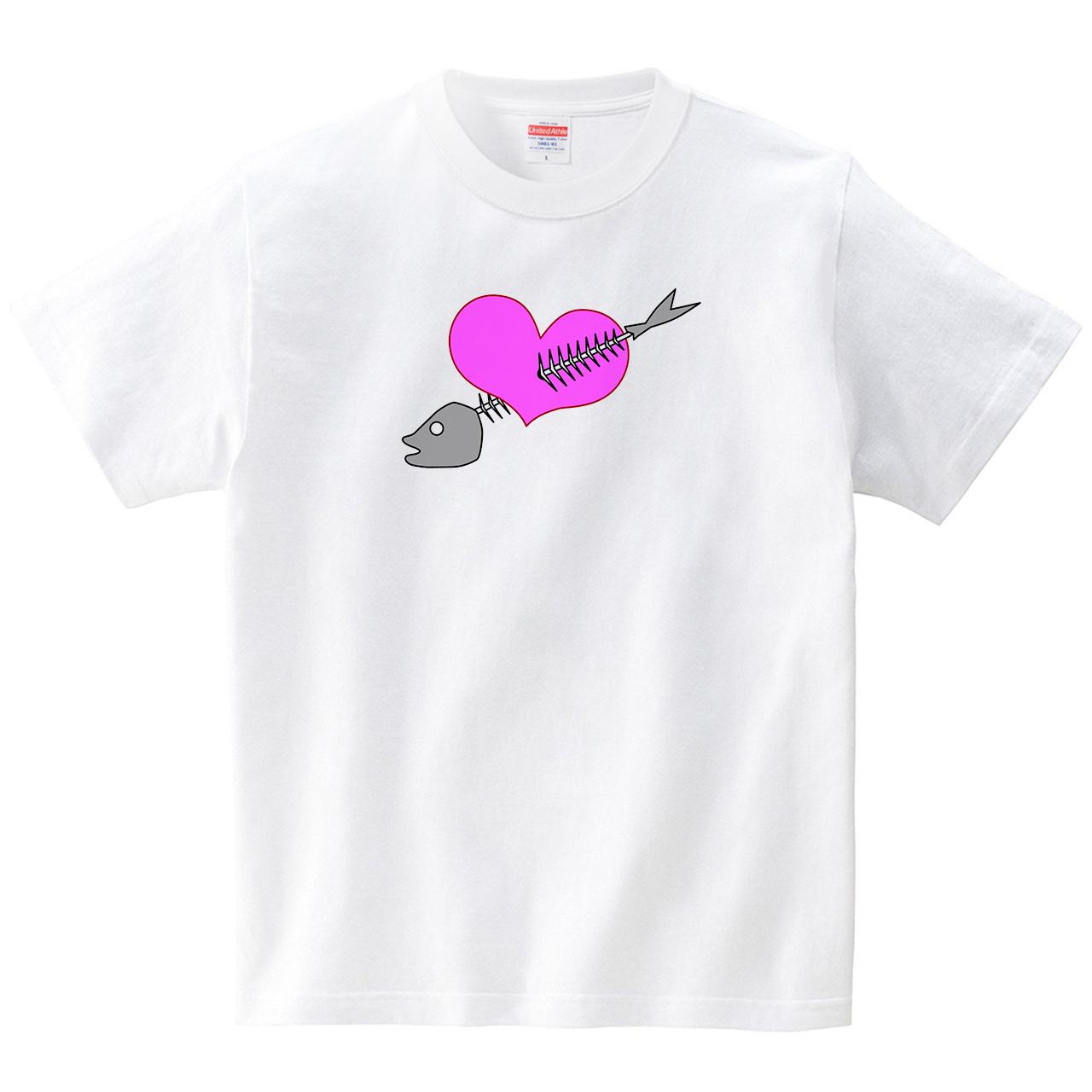 愛とゴミ(Tシャツ・ホワイト)(JACK IN THE PIX)