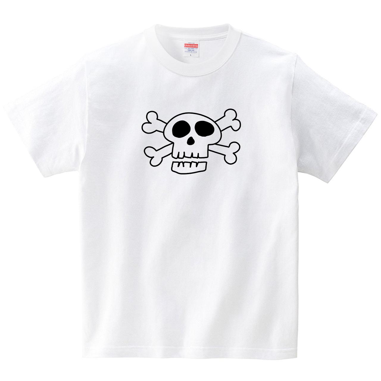 ガイコツ(Tシャツ・ホワイト)(GMDW)