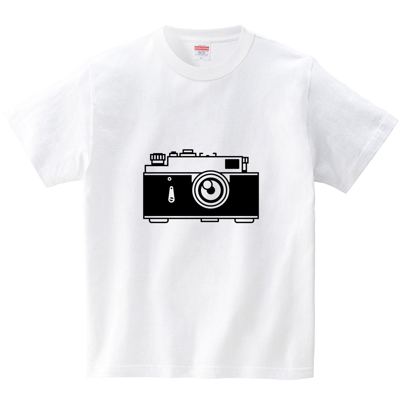 アンティークなカメラ(Tシャツ・ホワイト)(犬田猫三郎)