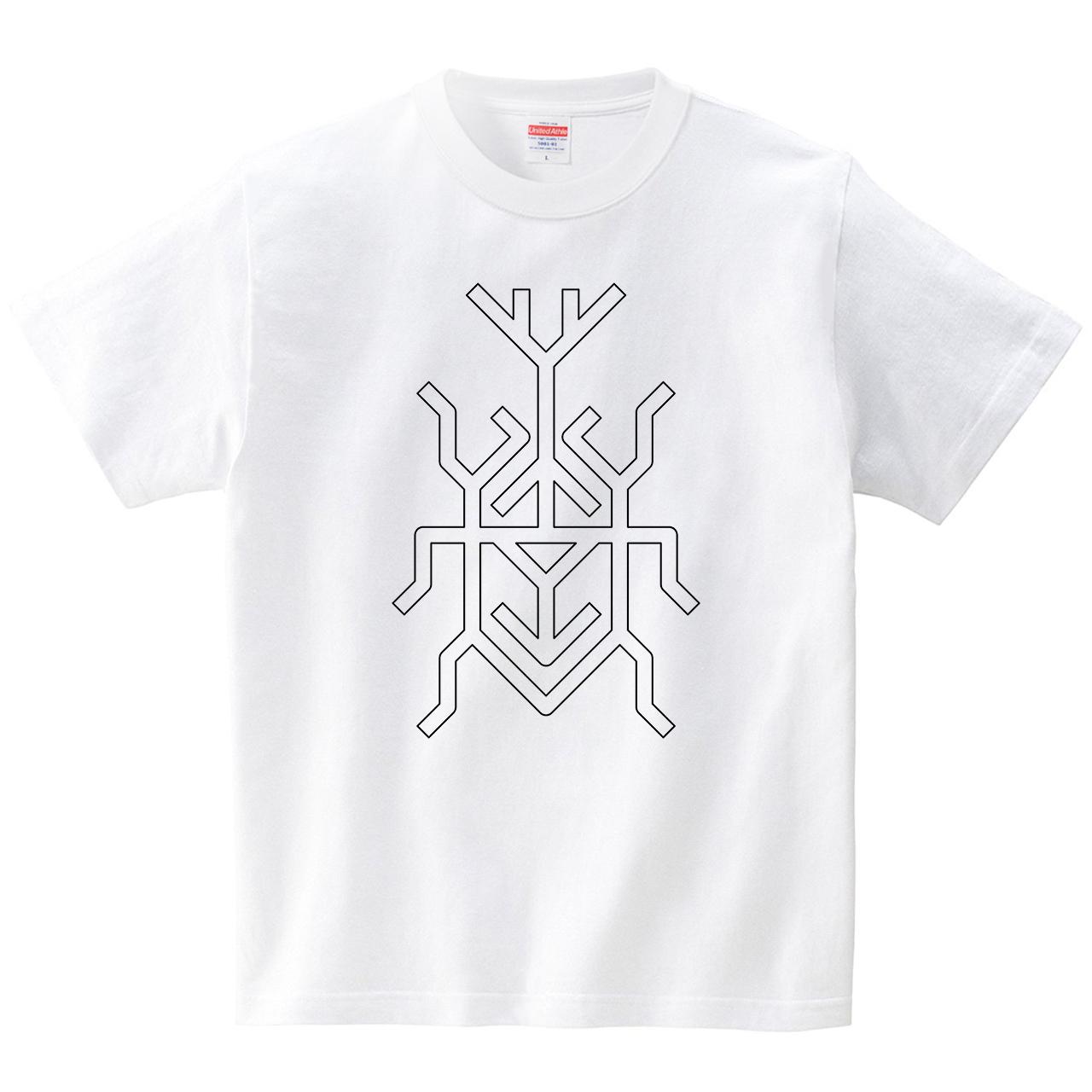 カブトムシ(Tシャツ・ホワイト)(JACK IN THE PIX)