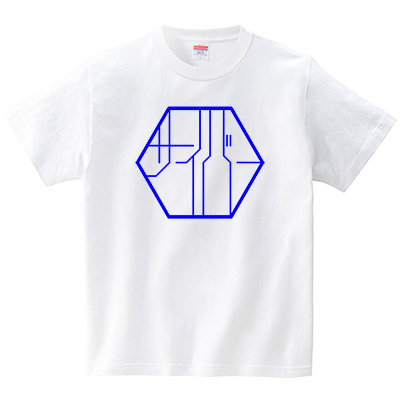 サイバーな細胞(Tシャツ・ホワイト)(JACK IN THE PIX)