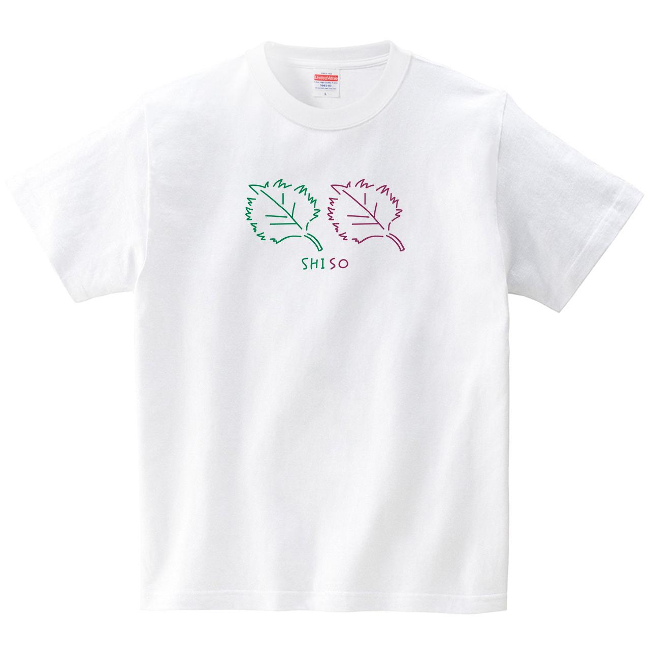 青しそ赤しそ(Tシャツ・ホワイト)(オワリ)
