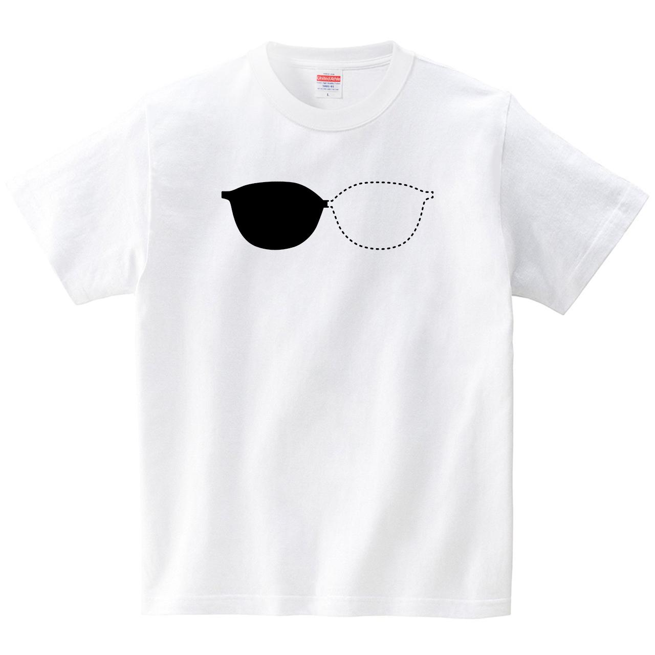 半グラス(Tシャツ・ホワイト)(JACK IN THE PIX)