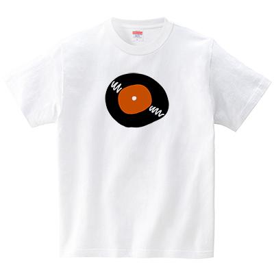 アナログレコード(Tシャツ・ホワイト)(GMDW)