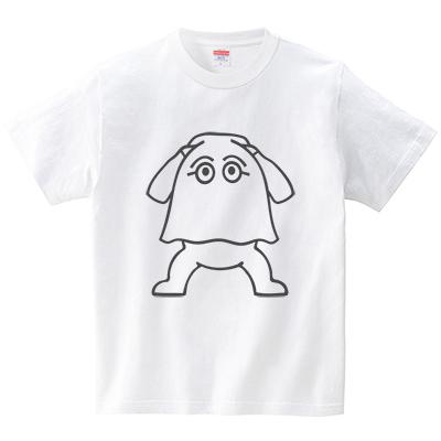 メジェドごっこ(Tシャツ・ホワイト)(犬田猫三郎)